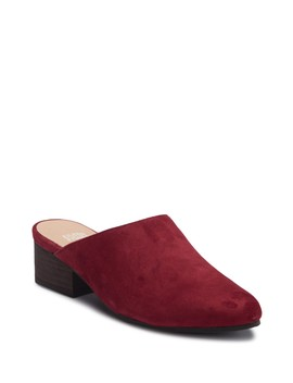 Sylvia Suede Mule by Eileen Fisher