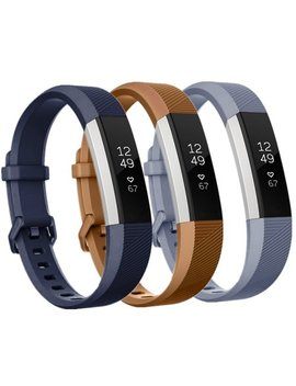 For Fitbit Alta Hr Band And Fitbit Alta Band Strap Wristband(3 Pack) by Moretek