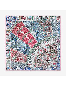 Fleurs De Giverny Scarf 90 by Hermès
