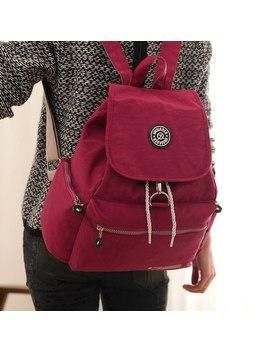 New Casual Women Backpack Waterproof Nylon 10 Colors Girl Lady Women's Drawstring Backpacks Travel School Bags Mochila Feminina by Sidaite