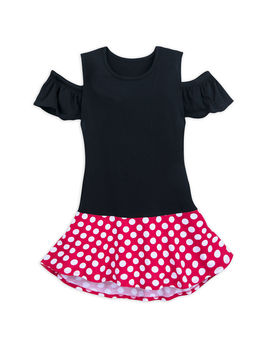 I Am Minnie Mouse Cold Shoulder Top by Disney