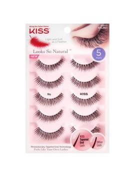 Kiss Looks So Natural Lashes,Shy5.0 Ea by Walgreens
