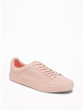 Textured Knit Sneakers For Women by Old Navy
