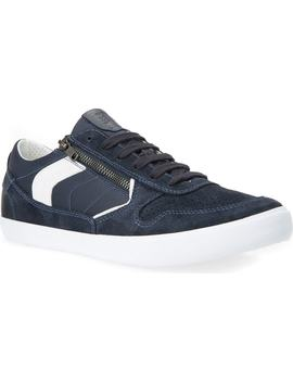 Box 33 Low Top Zip Sneaker by Geox