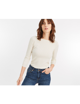 Lottie Textured Jumper by Oasis