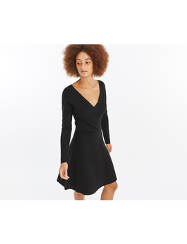 Millie Wrap Knitted Dress by Oasis