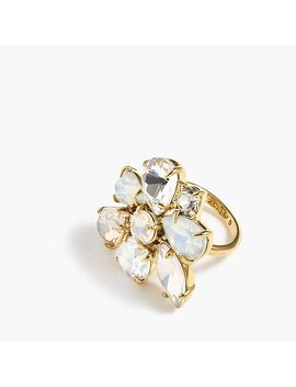Crystal Cluster Ring by J.Crew