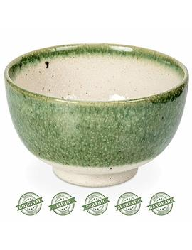 Tealyra   Matcha Bowl Red   Authentic   Ceramic   Made In Japan   Chawan From Japanese Master Craft   Matcha Tea Cup Ceremony Use by Tealyra