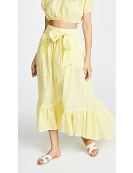 Nicole Eyelet Skirt by Lisa Marie Fernandez