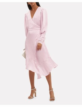 Kyrene Wrap Midi Dress by Joie