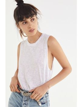 Project Social T Textured Muscle Tank Top by Project Social T