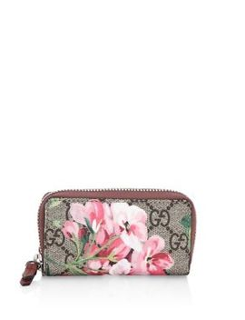 Floral Key Case by Gucci