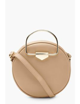 Lottie D Ring Round Cross Body Bag by Boohoo