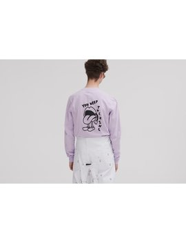 Lazy Oaf Keep Talking Long Sleeve T Shirt by Lazy Oaf
