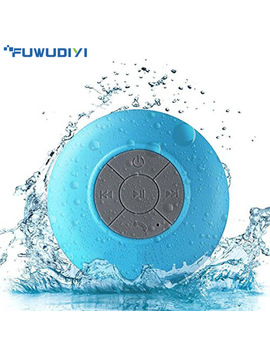 Portable Wireless Bluetooth Speakers Mini Waterproof Shower Speaker For I Phone Mp3 Handfree Car Speaker Bluetooth Receiver by Fuwudiyi