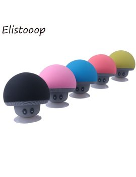 Elistooop Portable Mini Mushroom Wireless Bluetooth Speaker Waterproof Shower Stereo Subwoofer Music Player For I Phone Xiaomi by Elistooop