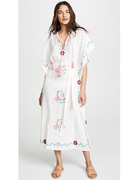 Ophelia Embroidered Caftan by Blue Boheme