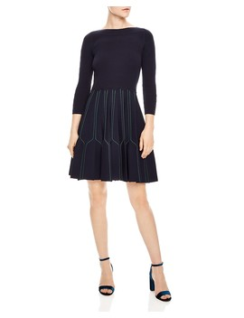Fur A Line Dress by Sandro