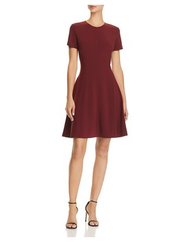 Modern Seamed Dress by Theory