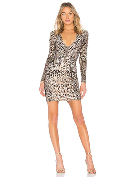 Shanina Sequin Mini Dress by Nookie