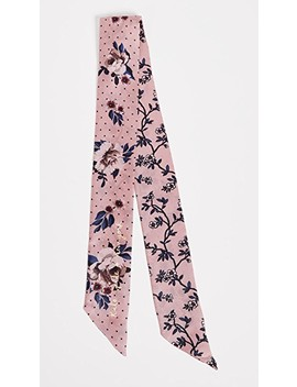 Prairie Rose Silk Skinny Scarf by Kate Spade New York