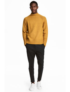 Dropped Gusset Twill Pants by H&M