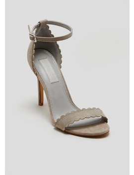 Fwm Scalloped Barely There Heels by Matalan