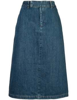 Classic Denim Skirt by A.P.C.