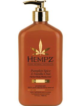 Pumpkin Spice & Vanilla Chai Body Moisturizer by Hempz
