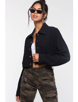 Hey There Crop Jacket by A'gaci