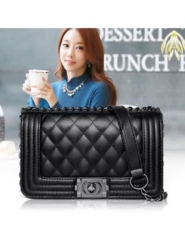 Women 2018 Lady Quilted Chain Bag Leather Shoulder Cross Body Handbag Messenger by Ebay Seller
