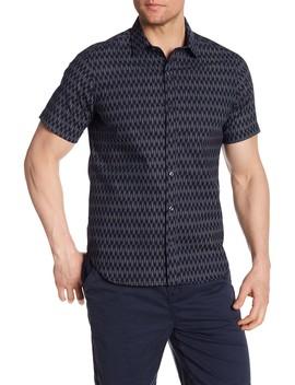 Delano Printed Regular Fit Shirt by Jeff