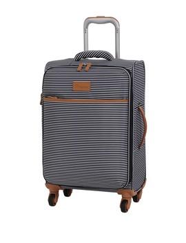 """22"""" Beach Stripes 4 Wheel Luggage by It Luggage"""