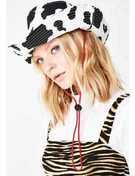 Holy Cow Bucket Hat by Cheek Ldn