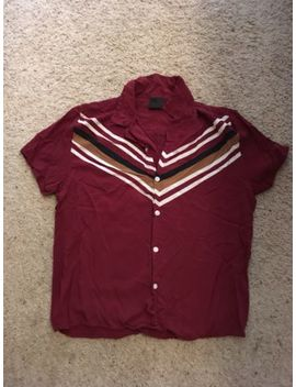 Mens Asos Rayon Shirt Xs Oop Rare by Asos