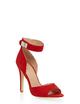 Peep Toe High Heel Sandals by Rainbow