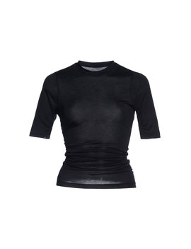 Souk Gathered Cotton Jersey T Shirt by Jacquemus