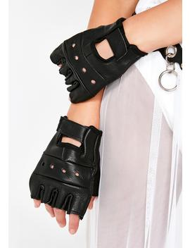 Hit The Gas Biker Gloves by Funk Plus