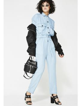 The Mechanic Denim Jumpsuit by Emory Park