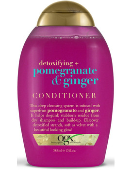 Detoxifying + Pomegranate & Ginger Conditioner by Ogx