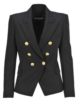 Balmain Blazer Fitted  6 Bottons by Balmain
