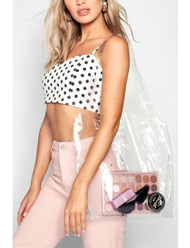Clear Shopper Day Bag by Boohoo