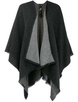 Asymmetric Cape by Emporio Armani
