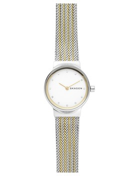 Freja Gold Tone Detail Watch, 26mm by Skagen