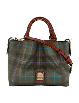Dooney & Bourke Tiverton Plaid Mini Barlow Crossbody by Qvc