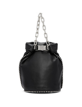 Black Attica Soft Dry Sack Bag by Alexander Wang