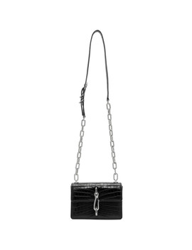 Black Hook X Body Shoulder Bag by Alexander Wang