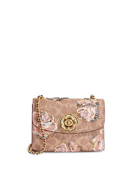 Parker Floral Leather Crossbody Bag by Coach