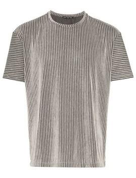 Issey Miyaketucked Stripe T Shirthome Men Issey Miyake Clothing T Shirts by Issey Miyake