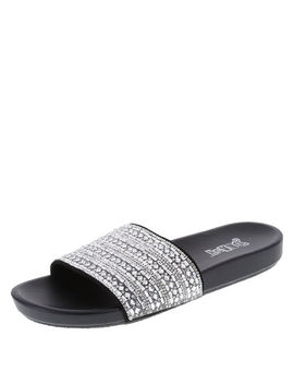 Women's Oma Embellished Slide by Learn About The Brand Brash